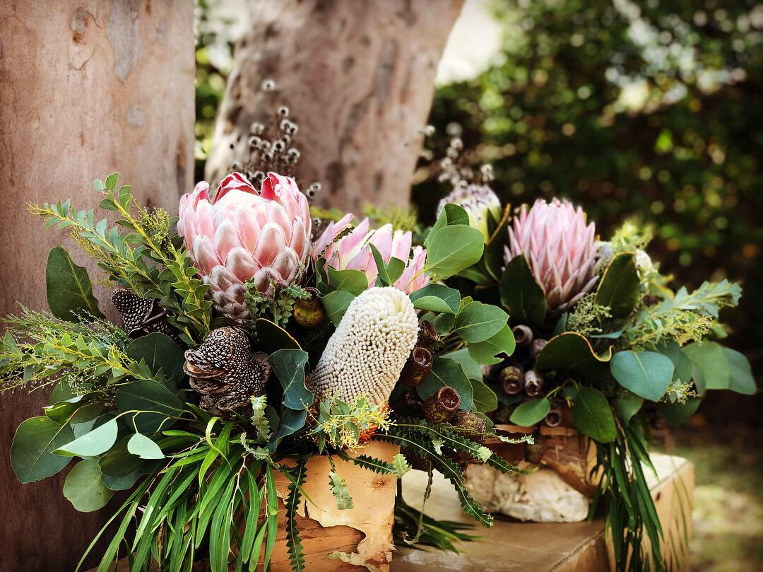 love, hope, flowers, lhflowers, wedding flowers, flowers, Sydney, Sydney florist, australian native flowers, native flowers, king protea, long lasting flowers, corporate dinner, sydney harbour cruise, gum nuts, table centrepieces