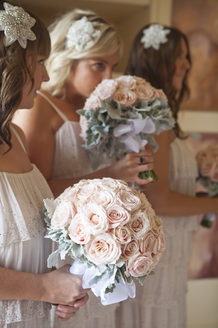 love, hope, flowers, lhflowers, wedding flowers, flowers, Sydney, Sydney florist, pastel, pink, roses, dome, bouquets, hair, pieces, jewels, elegant, flowers, bridesmaids,