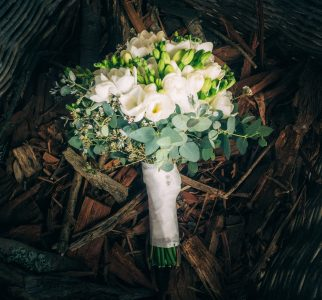 love, hope, flowers, lhflowers, wedding flowers, flowers, Sydney, Sydney florist, white, freesia, bridesmaids, bouquet, wedding, bouquet, kangaroo, valley, melross, farm, fire, wood, winter, wedding, eucalyptus, gum, destination, wedding