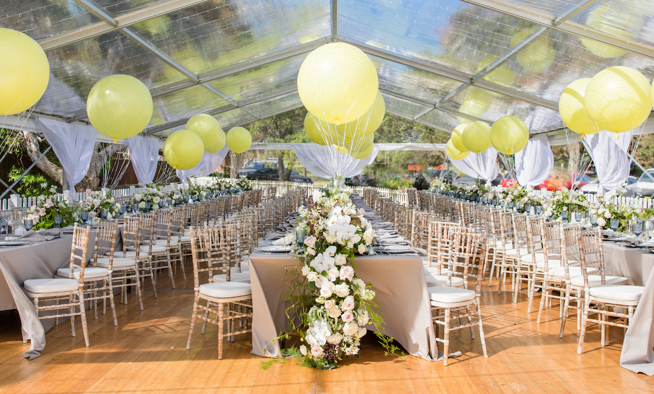love, hope, flowers, lhflowers, wedding flowers, flowers, Sydney, Sydney florist, christening, centennial park, long table centre pieces, dinner party, white roses, elegant christening, hydrangeas,